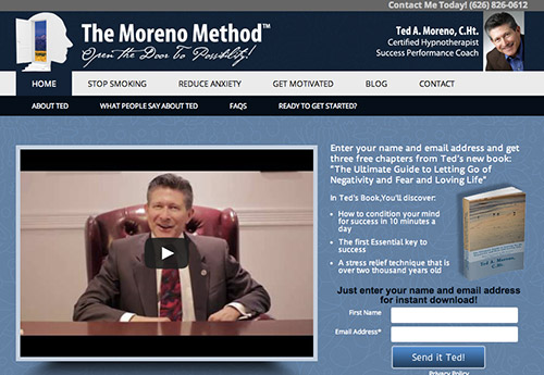 Ted Moreno New Website